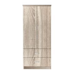 CLOSET ΝΤΟΥΛΑΠΑ SONOMA 80x50x180cm