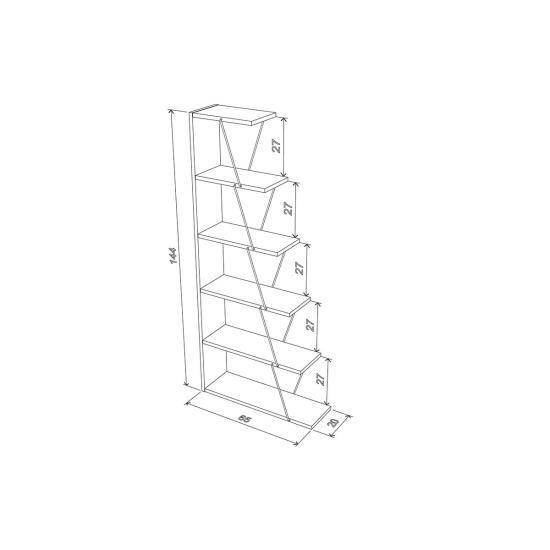Ντουλάπα σύνθεσης COMPOSITIO CS OR 2K W B/SO WENGE 77 X 40 X 198,5