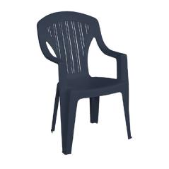 TROPEA Πολυθρόνα Στοιβαζόμενη Πλαστική Tortora 58x57x89cm