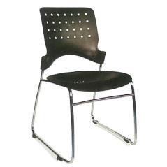 Welltrust κάθισμα αναμονής στοιβαζόμενη μαύρο fox PP 52,6x59,1x81,8 cm