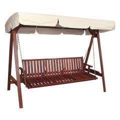 Ξύλινη Κούνια - Κρεβάτι Red Shorea 251,5x128,5x194,5cm