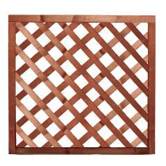 Ξύλινο Παραλ/μο Καφασωτό Καφέ  90 x 150(h)cm