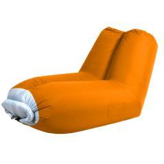 Πορτοκαλί Φουσκωτή Πολυθρόνα Παραλίας 178 x 82 x 98(h)cm