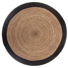 Faber Χαλί βαμβάκι μαύρο-λευκό 120x170cm