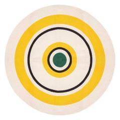 Arty Χαλί βαμβάκι πολύχρωμο Φ115x0,5cm