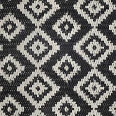 Boex Χαλί pp μαύρο-λευκό 180x90cm
