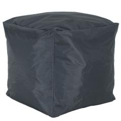 Cube Πουφ σκαμπώ επαγγελματικό με ανθρακί αποσπώμενο 100% αδιάβροχο κάλυμμα 45x45x43 cm