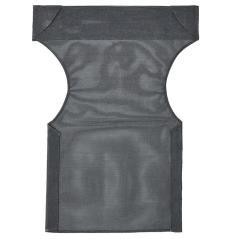 Διάτρητο πανί επαγγελματικό για πολυθρόνα σκηνοθέτη χρώματος μαύρο 46x58x80 cm