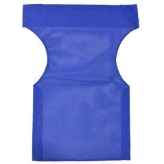 Διάτρητο πανί επαγγελματικό για πολυθρόνα σκηνοθέτη χρώματος μπλε 46x58x80 cm