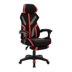 BF9000 πολυθρόνα Gaming-Relax Mesh-Ύφασμα Μαύρο/Κόκκινο 62x65x115/125cm