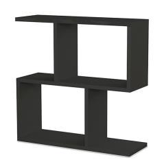 Homemania Βοηθητικό τραπέζι χρώμα ανθρακί 60x20x60 cm