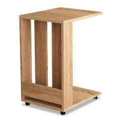 Edi Τραπέζι βοηθητικό σαλονιού φυσικό χρώμα 45x37x60 cm