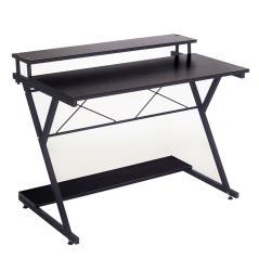 Turin Γραφείο χρώμα μαύρο 100x45x75 cm