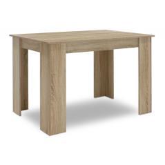 Jason Τραπέζι χρώμα sonoma 120x80x76,5 cm