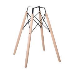 ART Wood Βάση Τραπεζιού Φυσικό 54x54x70 / Eπιφάνειες 60-80cm