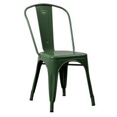 RELIX Καρέκλα - Μέταλλο Βαφή Πράσινο 44x49x84cm