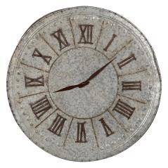 Ρολόι τοίχου Γκρί Μέταλλο 51x51x4cm