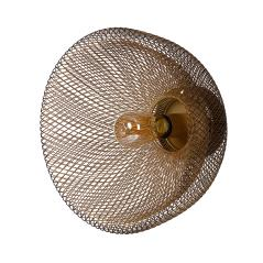 Chic Απλίκα Μαύρο,Χρυσό Μέταλλο 35x35x24cm
