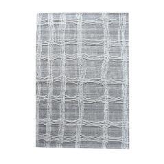 MEDZEV Χαλί μάλλινο 100% χρώμα Γκρι-Μπεζ 160x230cm