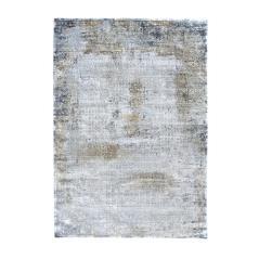 STELLA Χαλί μάλλινο 100% χρώμα Ανοιχτό Γκρι 160x230cm