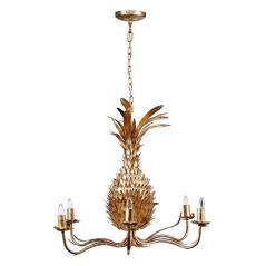 Φωτιστικό οροφής Χρυσό Μέταλλο 69x69x61cm