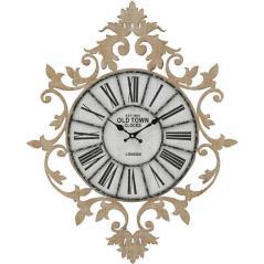 InArt ΡΟΛΟΙ ΤΟΙΧΟΥ ΞΥΛΙΝΟ NATURAL/ΛΕΥΚΟ 60Χ5Χ75 cm