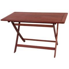 Ξύλινο ,Παραλ/μο Πτυσσόμενο Τραπέζι Red Shorea 120 x 75cm