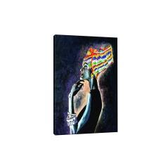 Πίνακας σε καμβά PWF-0473 ψηφιακή εκτύπωση 70x3x100εκ